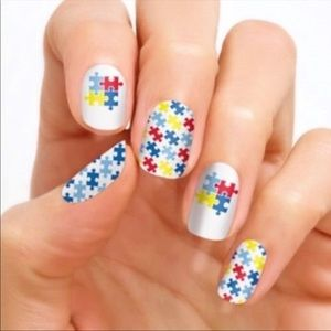 Color Street Nail Strips - Autism Awareness